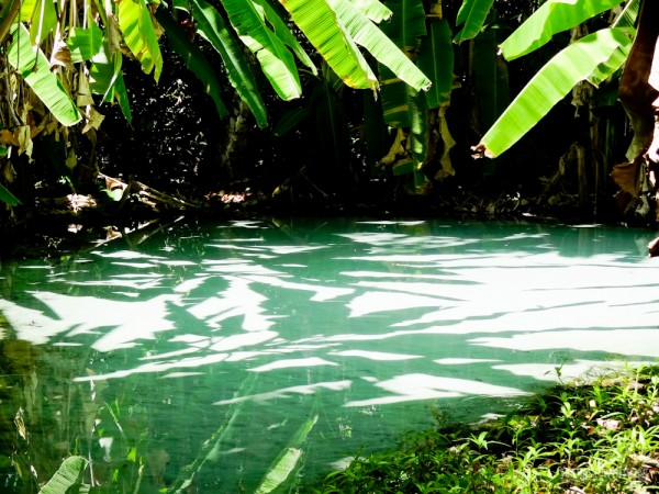 Fervedouro da Glorinha, intrigante como é impossível afundar