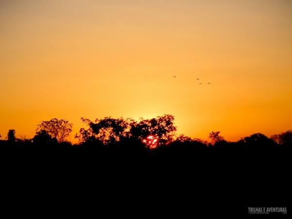 Primeiro pôr-do-sol que vimos no Jalapão. Inesquecível!