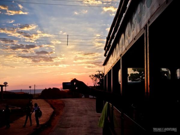Impossível não parar e registrar um pôr-do-sol como este no Jalapão