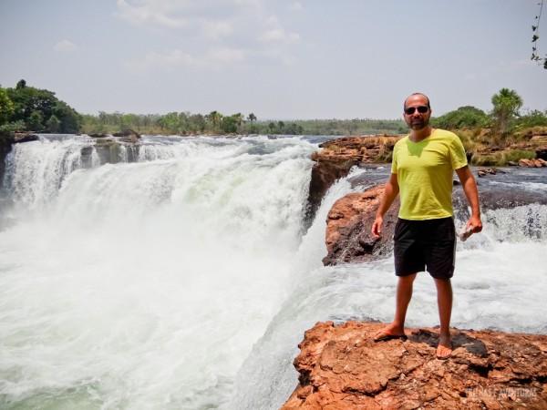 Dá pra chegar bem perto das quedas da Cachoeira da Velha no Jalapão