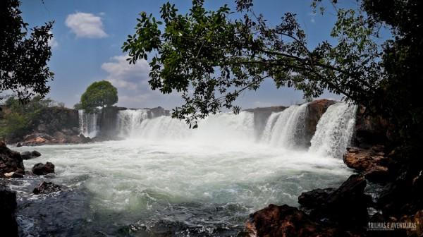 Um novo ângulo da Cachoeira da Velha vista da Trilha do Rio Novo