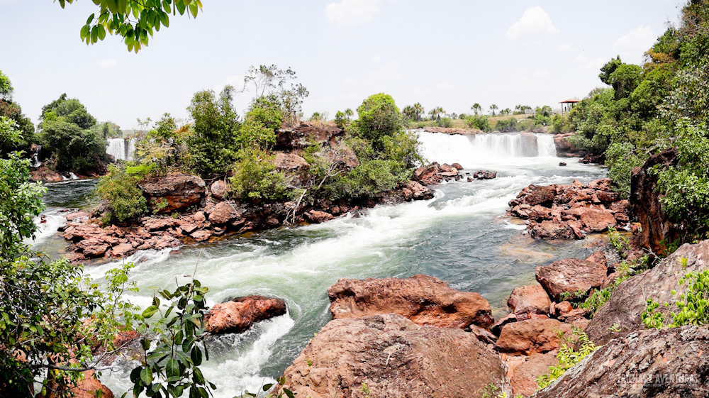 Mirante da Trilha do Rio Novo para uma linda panorâmica da Cachoeira da Velha