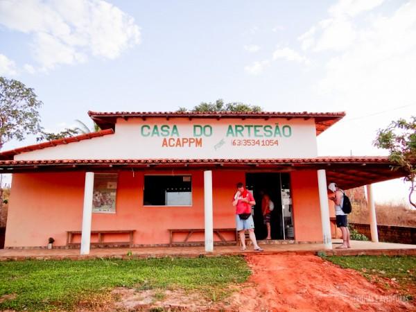 Casa do Artesão de Mateiros, no Jalapão
