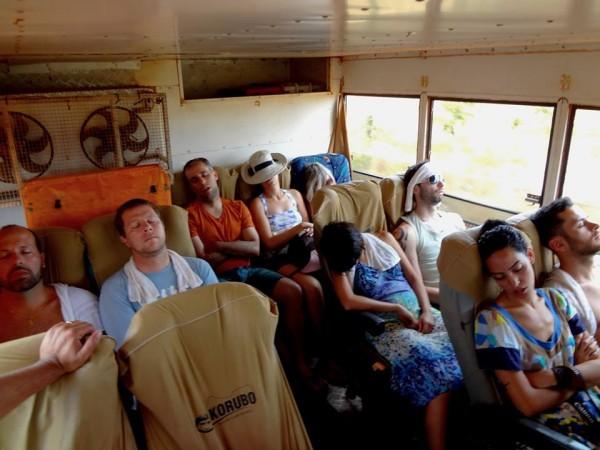 Flagrante nos Adventure Bloggers! Será que estávamos cansados?