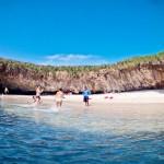 A Praia Escondida é bem pequena mas impressionante!!!