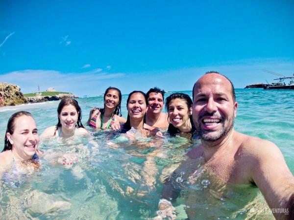 Viajar é fazer novos amigos... e essa turma foi mais do que especial!