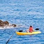 Também é possível praticar mergulho, SUP e caiaque nas Ilhas Marietas
