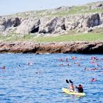 O desembarque com colete salva-vidas é obrigatório para fazer a visita