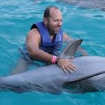 """Meu primeiro """"ounnnnn"""" com o golfinho"""