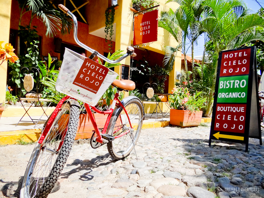 Bikes estão disponíveis para o aluguel dos hóspedes