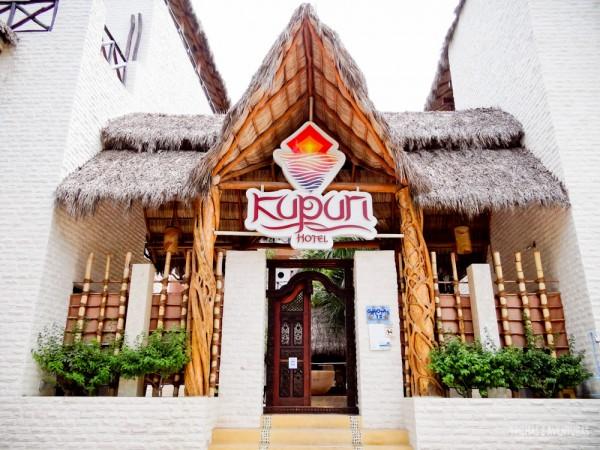 Fachada do Hotel Kupuri, Sayulita - México