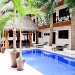Piscina do Hotel Kupuri, em Sayulita - México