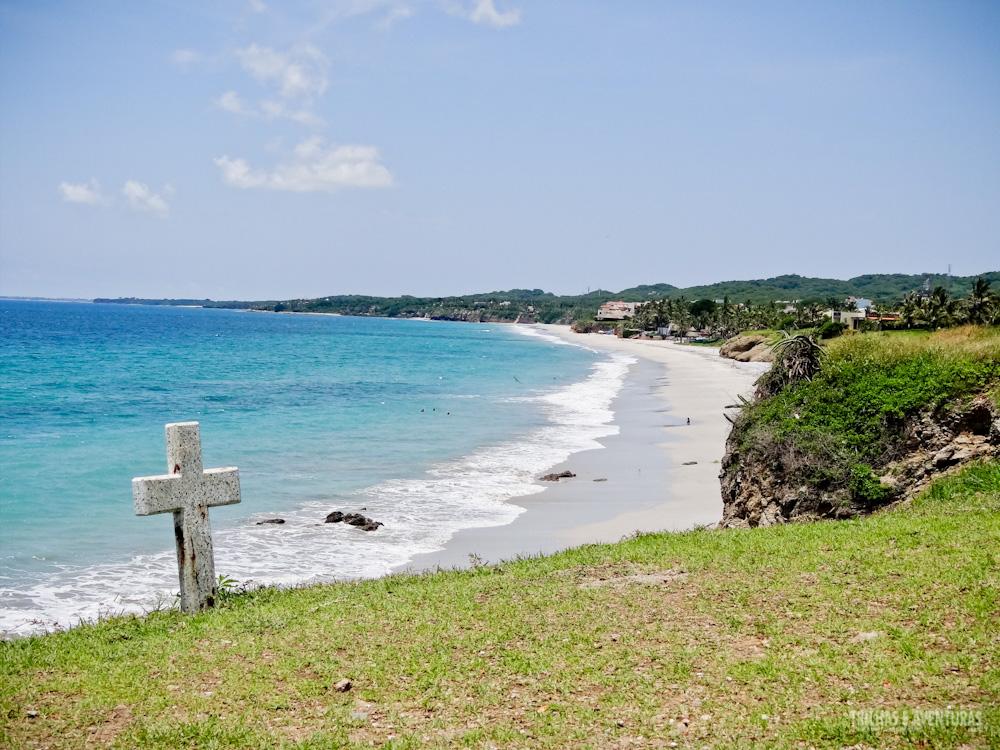 Playa Destiladeras, uma das mais bonitas da Riviera Nayarit