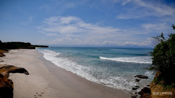 Panorâmica do mirante da Playa La Lancha