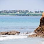 É possível avistar os resorts de Punta Mita