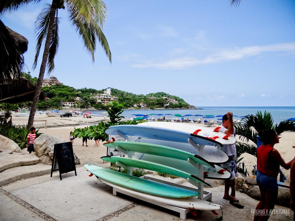 Sayulita, o paraíso do surf na Riviera Nayarit, no México