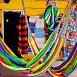 Cores e muitas lojas para compras em Sayulita