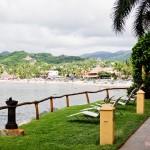 Vista da praia de Sayulita