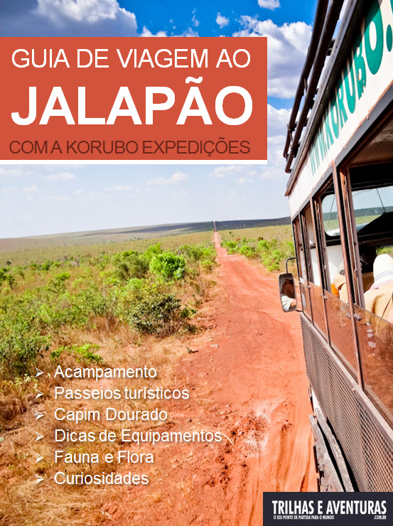 Capa do E-Book: Guia de Viagem ao Jalapão com a Korubo Expedições