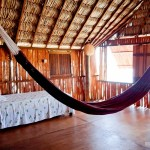 Rede e cama extra para famílias