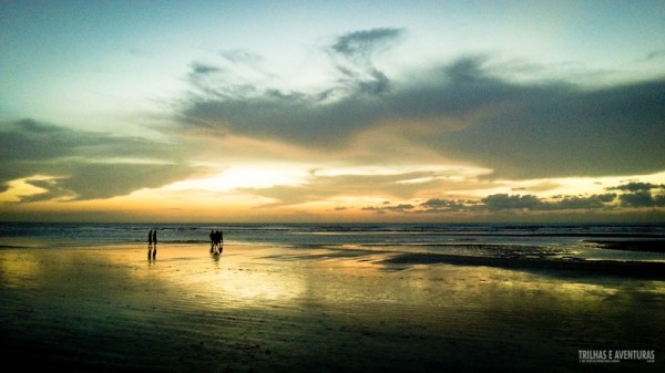 Pôr-do-Sol visto da Praia de Jericoacoara