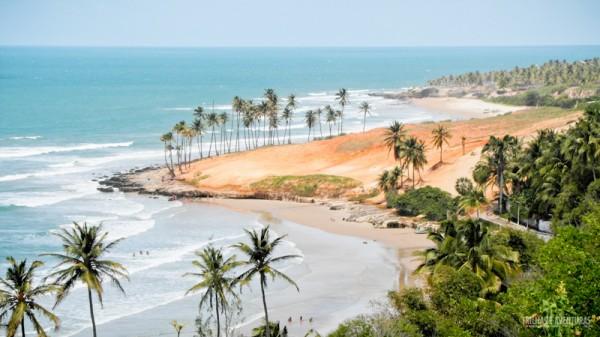 Praia de Lagoinha, cartão-postal do Ceará
