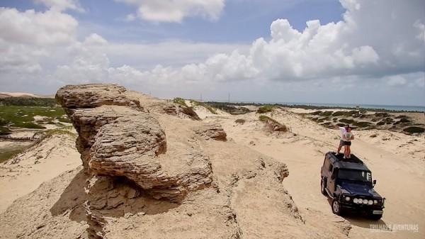 Vista do alto da Pedra do Rei Leão