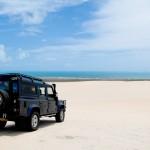 Land Rover da 4por4 Adventure no alto das dunas