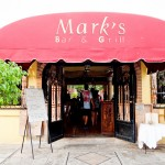 Restaurante Marks Bar e Grill, em Bucerias - México