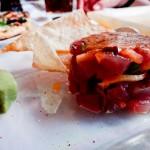 Tartar de Atum com frutas