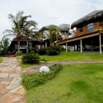 Jardim da Pousada VillaMango Beach Bungalows
