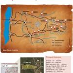 Mapa exclusivo com atrações