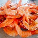 Ai, ai... amo camarão cozido!
