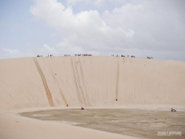 Duna do Funil - Descemos a maior duna do Ceará de Land Rover
