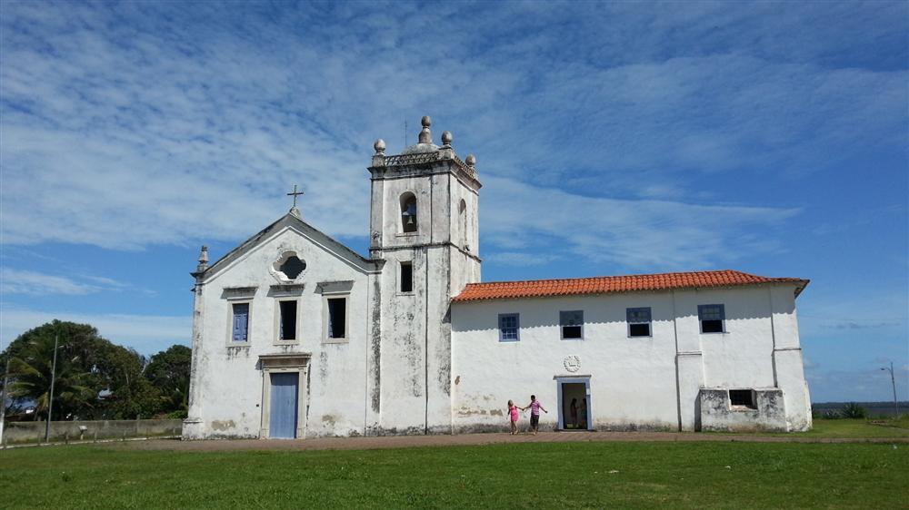 Igreja dos Reis Magos, em Nova Almeida - ES
