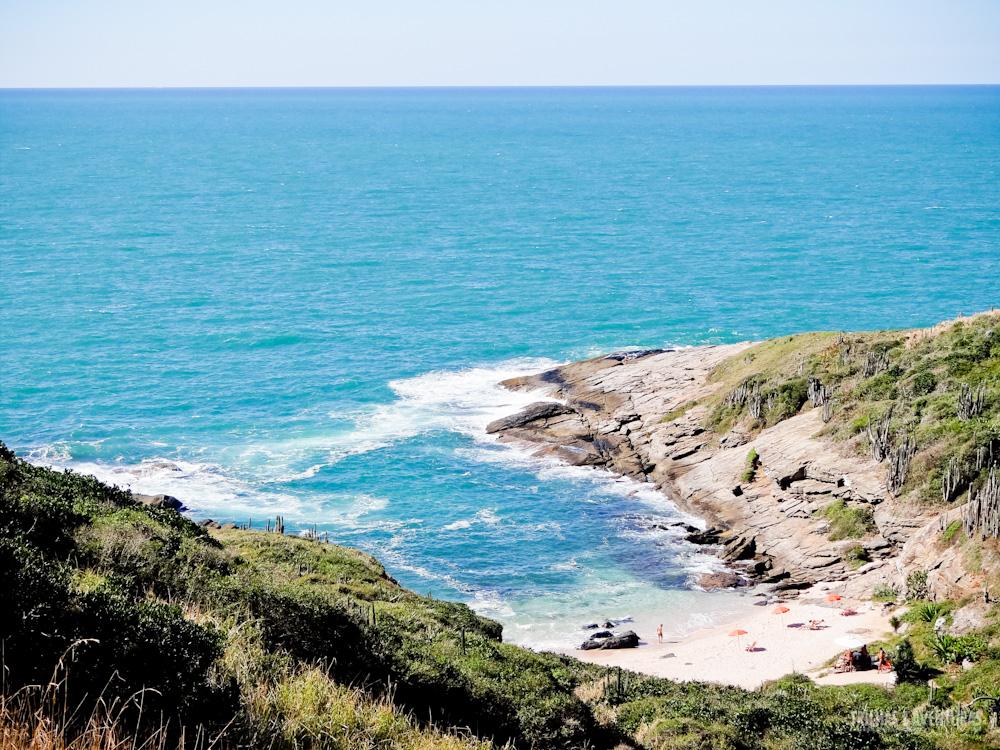 4º Passo - Subir a trilha até encontrar essa vista do paraíso