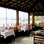 Restaurante panorâmico da Pousada Morena
