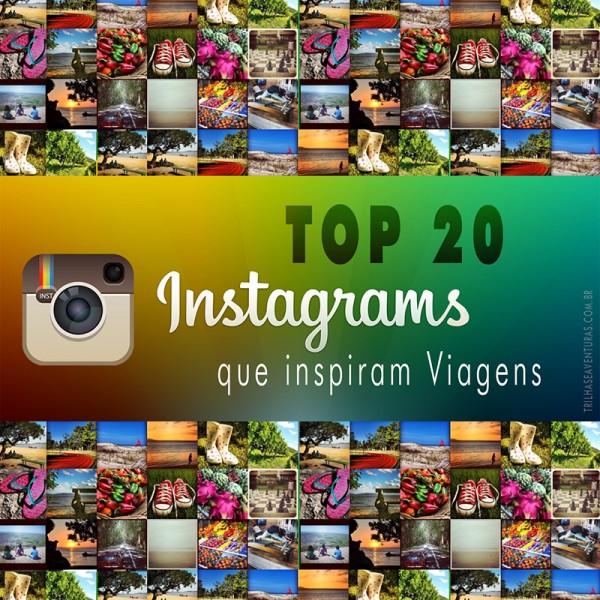 TOP 20 Instagrams de Viagem