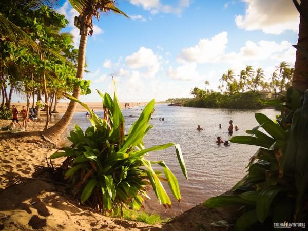 Quando cansar da praia é só ir pro Rio Imbassaí