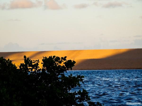 Mar, dunas e rio... uma combinação incrível em Imbassaí