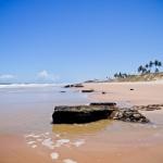 Praia de Nudismo - Massarandupió, na Bahia