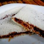 Tapioca de coco com Nutella
