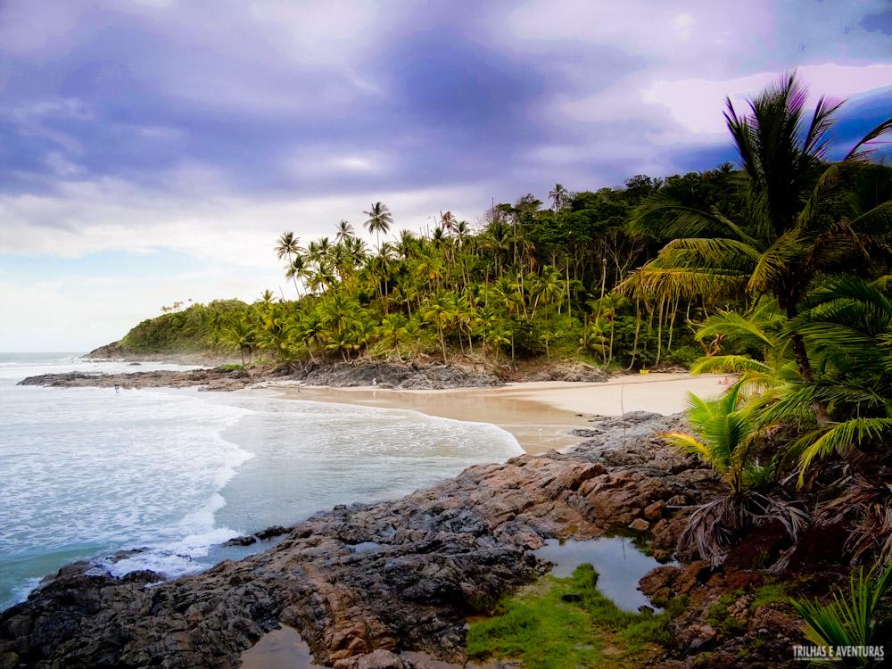 Praia do Havaizinho em Itacaré