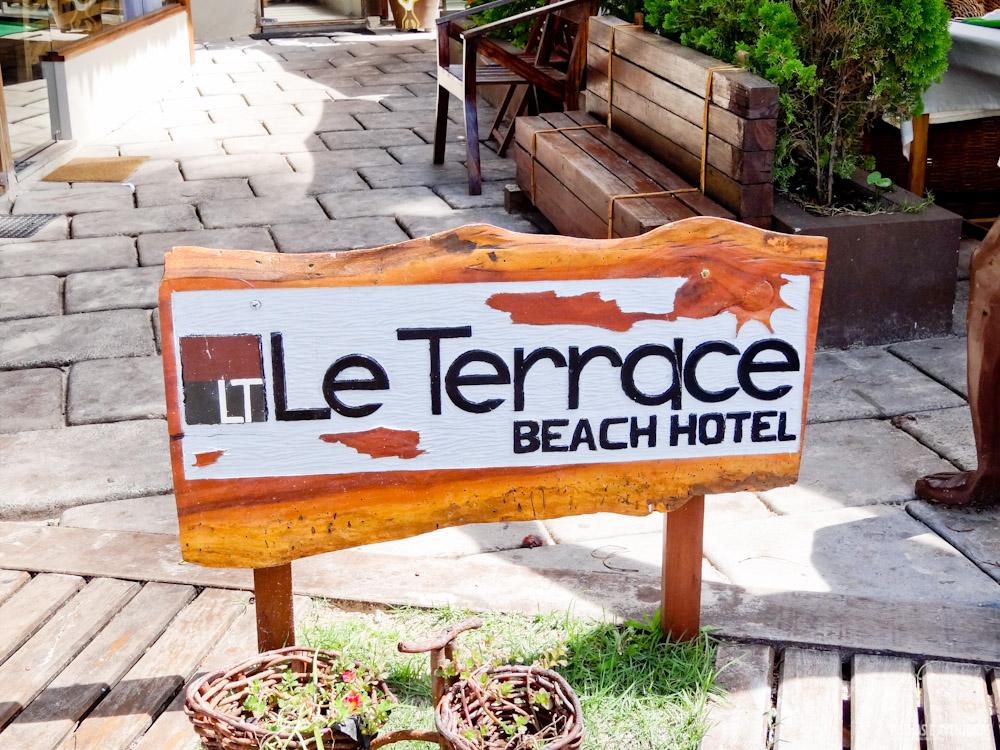 Le Terrace Beach Hotel no Morro de São Paulo