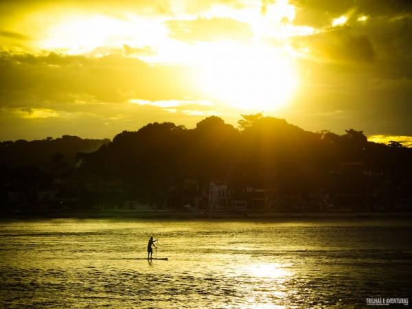Pôr-do-sol na Ponta do Xaréu em Itacaré
