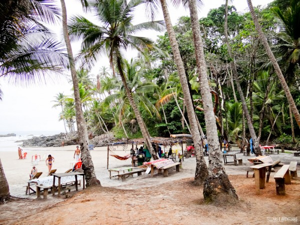 Barraquinhas na Praia do Havaizinho