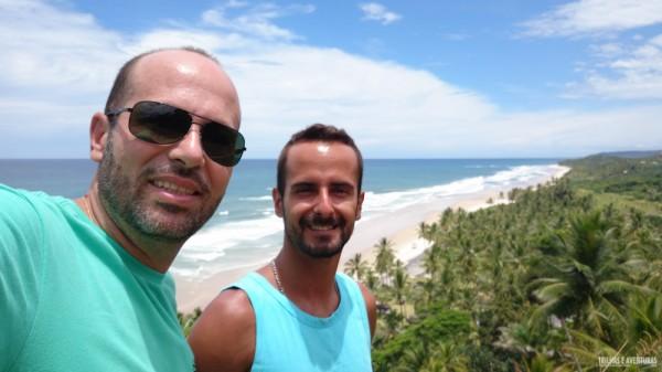 No mirante da Praia de Itacarezinho