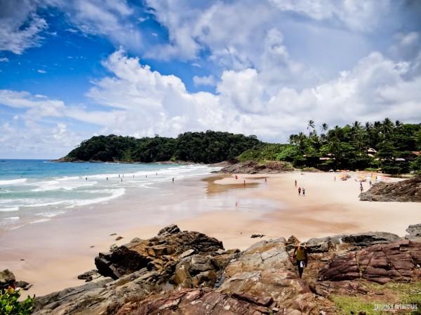 Praia da Tiririca - Itacaré Bahia