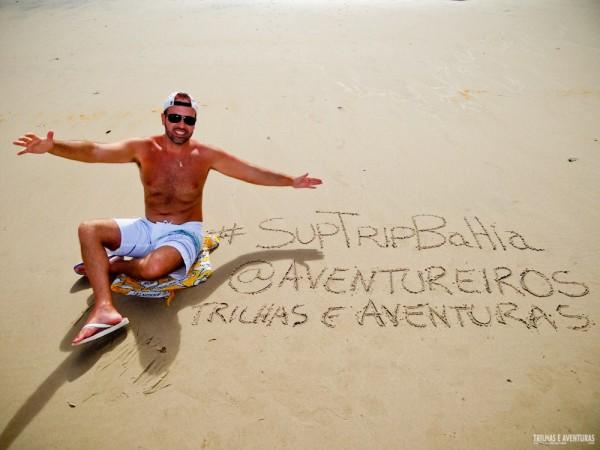 SUPTripBahia 2014 - Descobrindo points de SUP na Bahia
