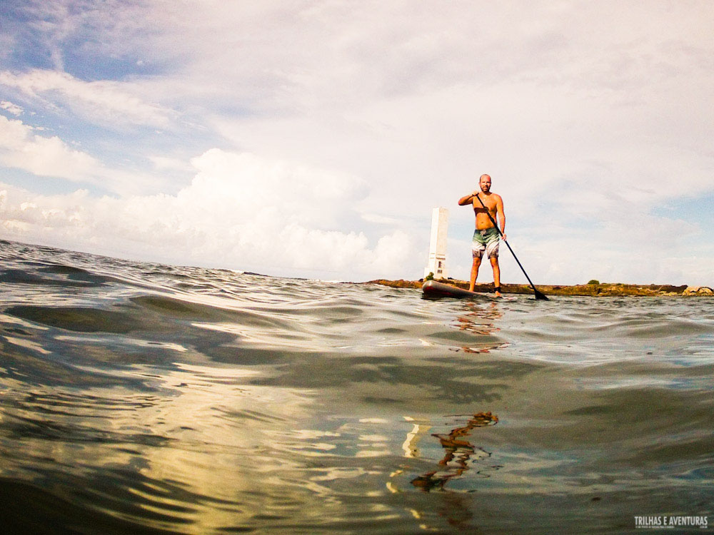 Stand Up Paddle em Itacaré